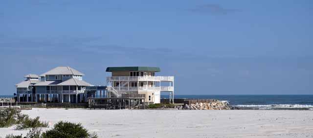 Tag 78 180 Typische Häuser am Beach.