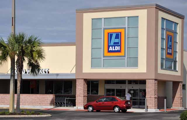 Tag 83 182 Heimatgefühle: Aldi gibt es auch in Orlando.
