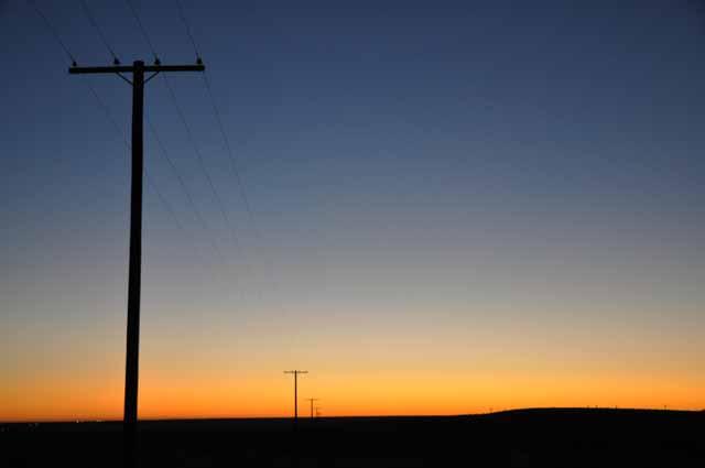 Tag 5 18 Sonnenauf (nicht -unter!) gang bei Ocotillo - die Yuha-Wüste.