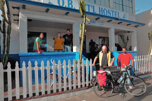 Tag 3 Foto Nummer 1 Abfahrt am OBI-Hostel.