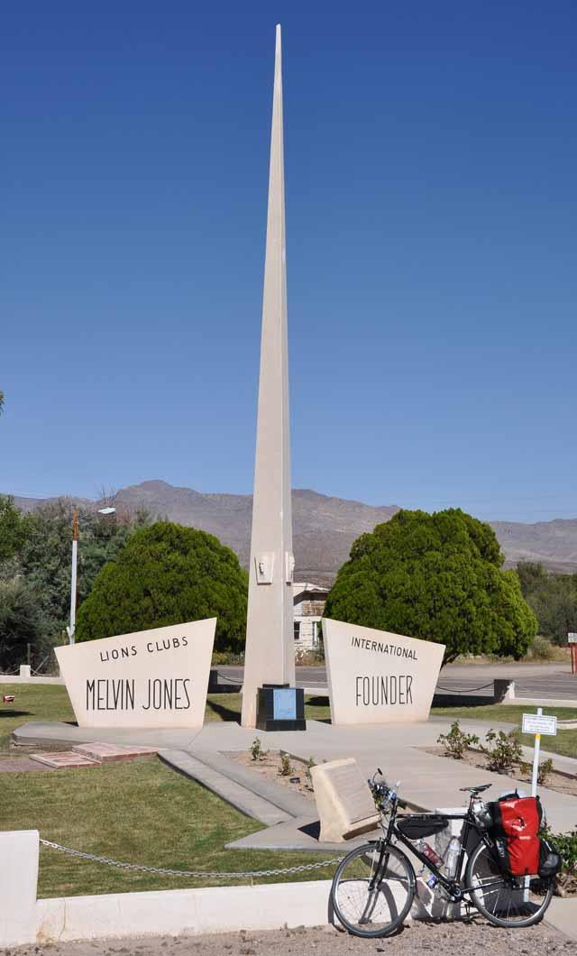 Tag 15 58 Denkmal: In Fort Thomas wurde der Gründer der Lions-Clubs geboren.