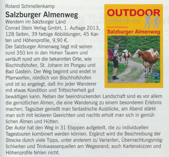 Das Magazin der Berliner DAV-Sektion hat das Buch vorgestellt.