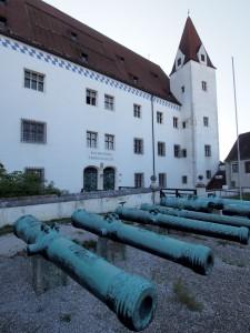 Das Bayerische Armeemuseum in Ingolstadt.