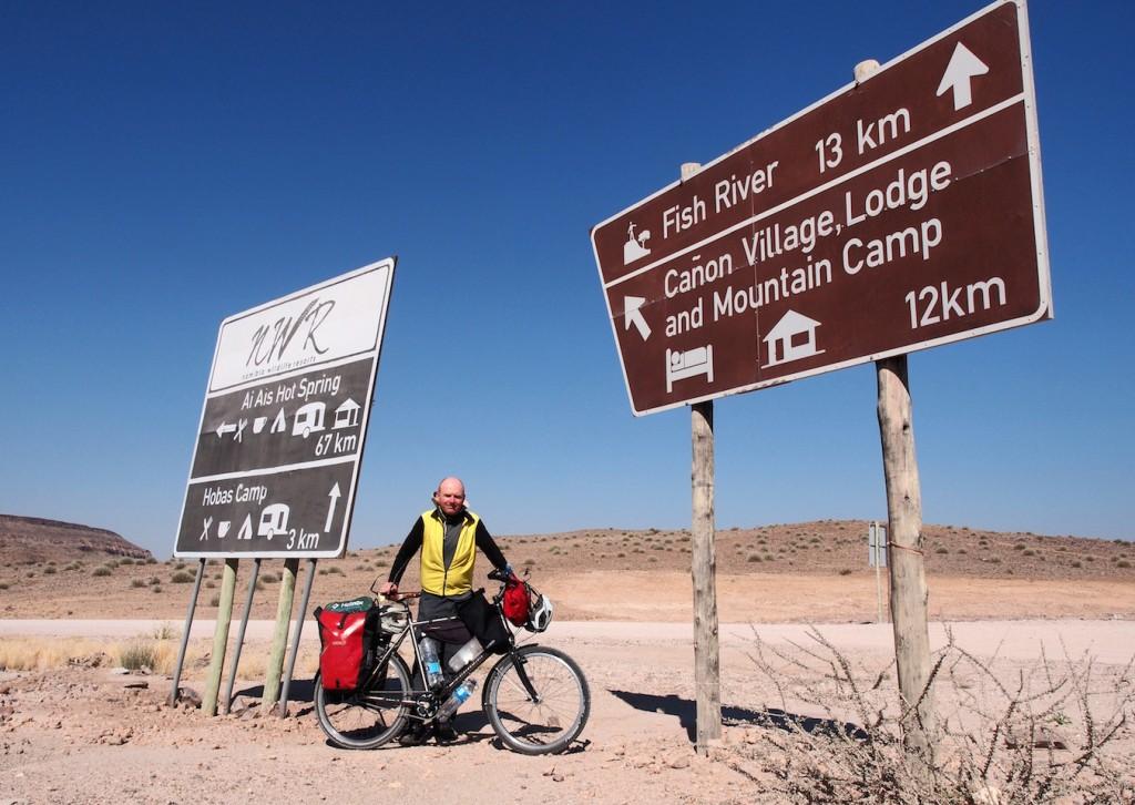 Namibia GPS ist unnötig, die Beschilderung ist sehr gut.